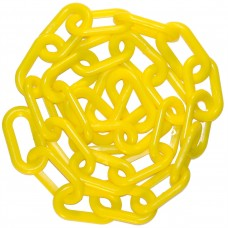 "Mr. Chain 2"" Plastic Chain - Yellow - 50 feet"