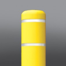 """4.5""""x52"""" Yellow/White Tape Dinged"""