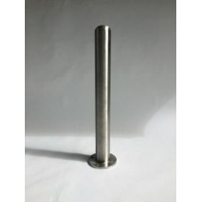 "4"" x 36"" Stainless Steel Bolt Down Bollard"