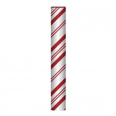 Bollard Cover Sox - Candy Cane