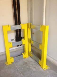 Guard Rails Floor Rails