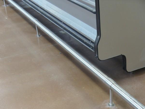 Guard Rails Floor Rails