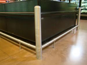 Floor Rail Protection